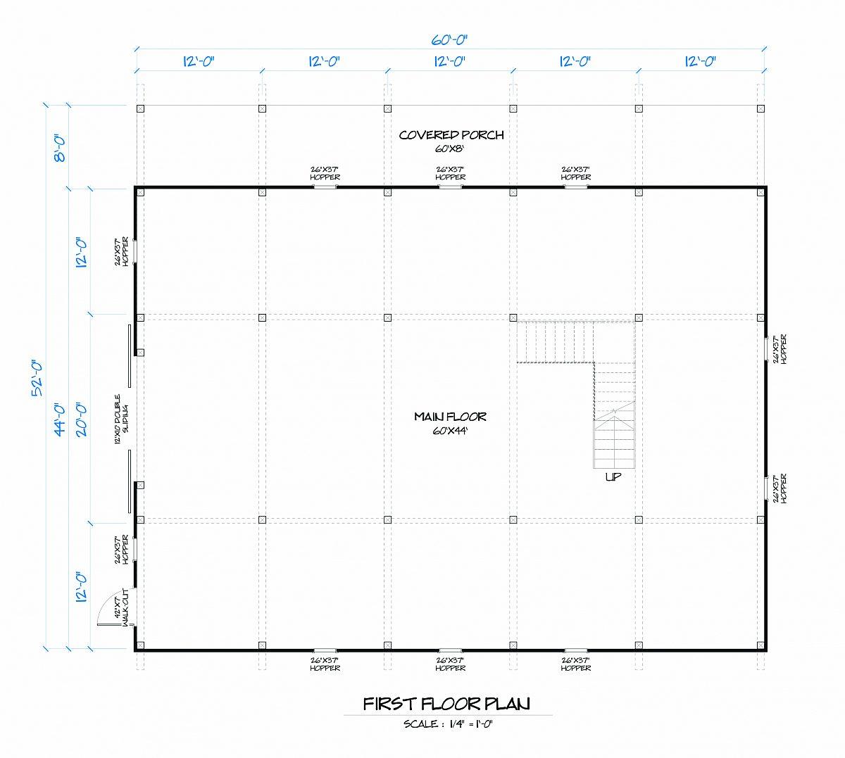 Timberlyne Butternut Barn Main Floor Plan