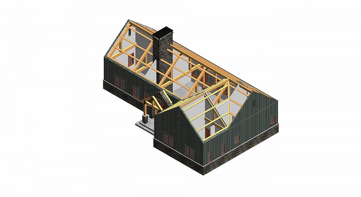 Timberlyne Cook 1450 SF Home Cutout