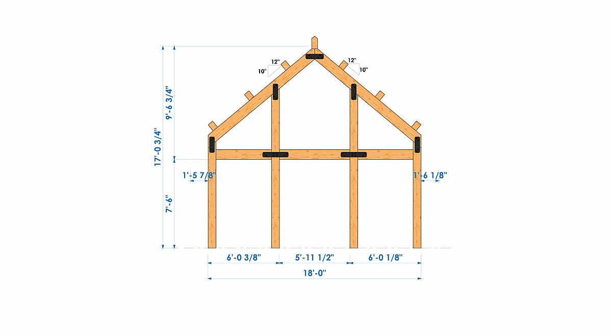 Timberlyne Henry 1550 SF Home Bent 1
