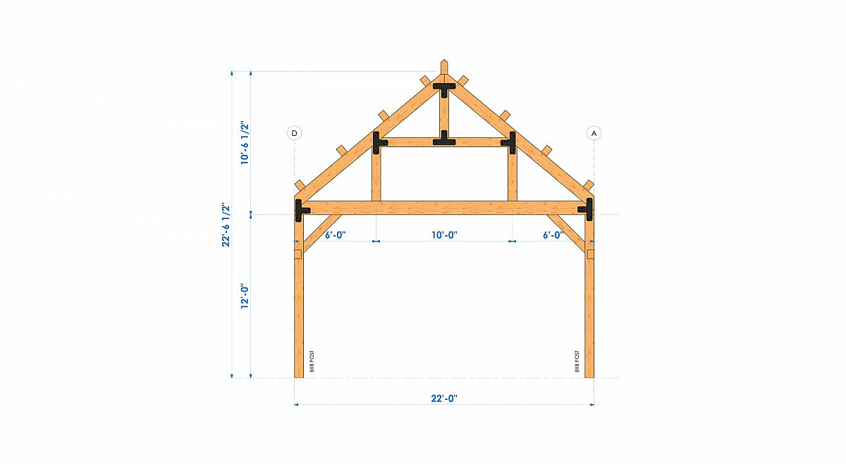 Timberlyne Henry 1550 SF Home Bent 4