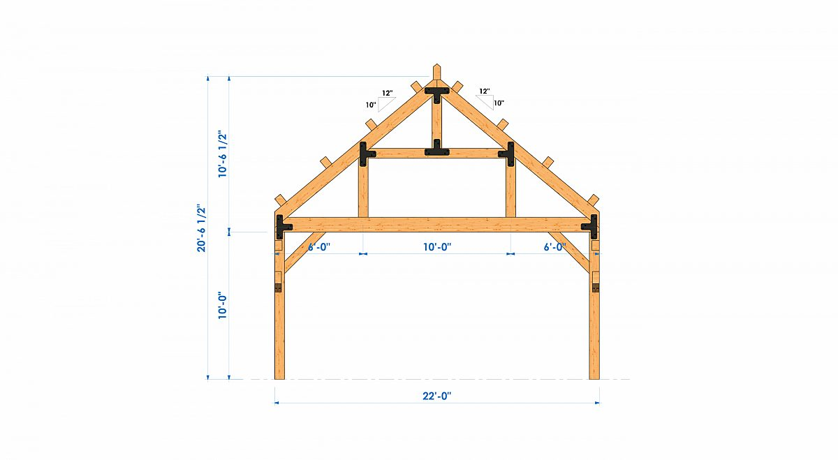 Timberlyne Henry 1550 SF Home Bent 5