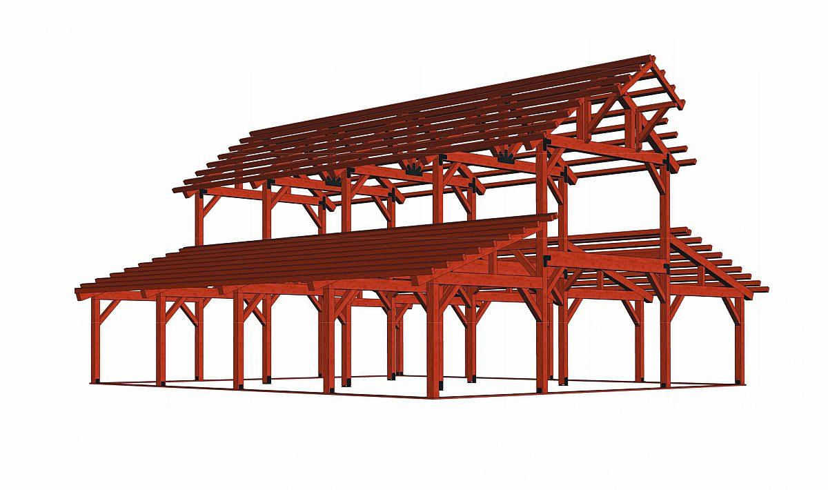 Timberlyne Hawthorn Barn Full Frame