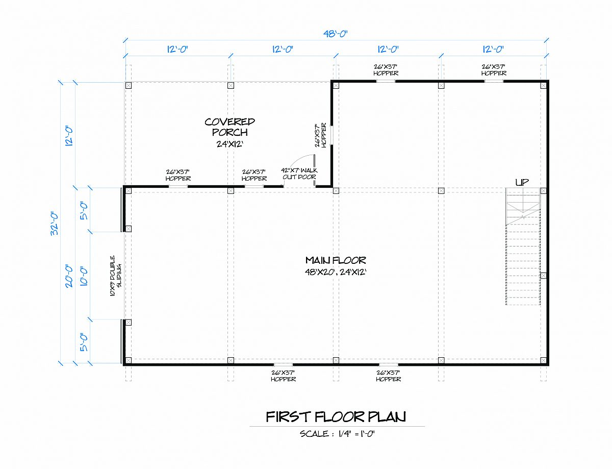 Timberlyne Lily Barn Main Floor Plan